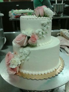 Wedding cake from wegmans Tier Cakes And More for that special