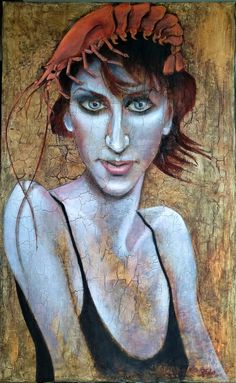 Face Art, Art Faces, Oil On Canvas, Canvas Art, Original Paintings, Original Art, Fashion Painting, Woman Painting, Art Oil
