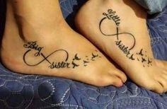 Sister Infinity Tattoo