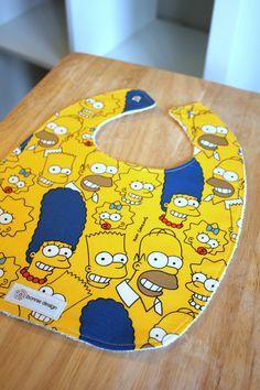 Simpsons : Plastic Lined Bib