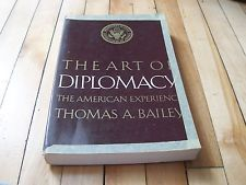 The #Art of #Diplomacy The #American Experience #1968 #Paperback By Thomas #Bailey #pb #vintage #book #Ebay