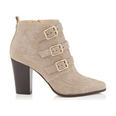 JIMMY CHOO Hutch rope denim leather ankle boots found on Nudevotion
