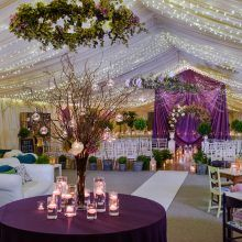 Amazing Styling By Get Knotted In Carfraemills Marquee Floral Chandelier Includes Hops And Hydrangea