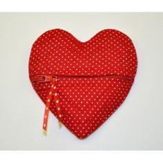 FREE Heart Coin Purse In the Hoop ~ Five Star Fonts Embroidery
