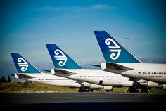 Air New Zealand - our national airline.