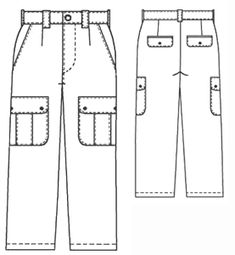 example - #6004 Cargo Pants