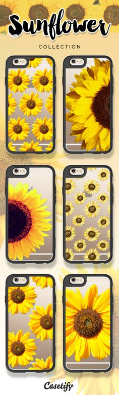Keep your face to the sunshine and you cannot see the shadow. It's what the sunflowers do! Take a look at these cases featuring sunflowers on our site now! https://www.casetify.com/search?keyword=sunflower | @casetify
