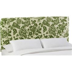 Skyline Furniture Slip Cover Canary Cotton Upholstered Headboard Size: