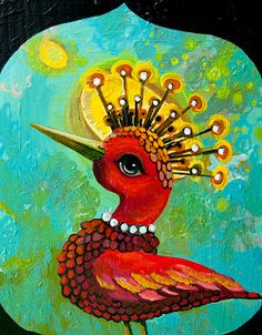VERT Indigo: Summer Paintings, Sunbird, beautiful art...