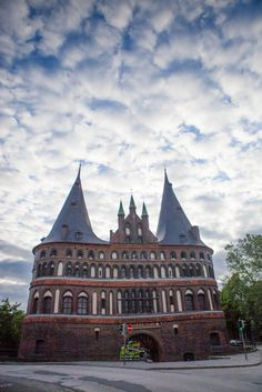 Beautiful architecture in Lubeck, Germany. #travel