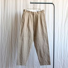 Chino Cloth Pants - tac tapared #khaki