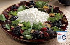 Blackberry Salad Recipe by DAISY_RECIPES via @SparkPeople
