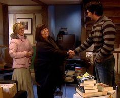 Geraldine and Harry meet ~ Love Richard in that sweater!