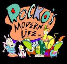 Rocko's Modern Life taught me everything I needed to know about drawing cows and wallabies.