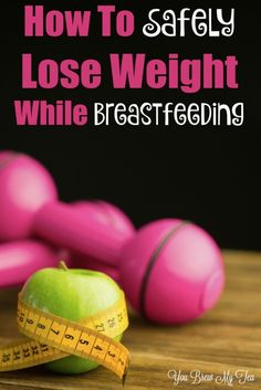 Don't miss our tips for how to Safely Lose Weight While Breastfeeding! Great tips for new moms to stay healthy while losing weight while feeding their babies.