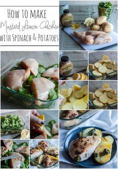 Mustard Lemon Chicken and Potatoes - The Lemon Bowl
