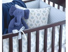 Fog Olivier Crib Bedding - 3 Piece Set