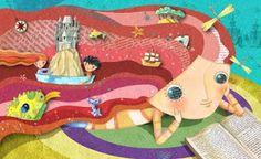 Gustavo Aimer Image detail for -VIAJAR NOS LIVROS...: Junho 2007 #reading #illustration #collage
