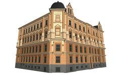 VirtuaaliViipuri - LN2 - Tontti 51 - the building which burned 14.7.2014