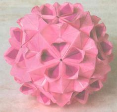 Cherry Blossom Kusudama Diagram + Video,  Cherry Blossom Kusudama! This is the next one I will be making, my morning dew one has gone to its new home, so I need more!  I haven't seen this...  #cute origami #download kasudama diagram #kasudama #kasudama cherry blossom #kasudama cherry blossom diagram #kusudama #origami #origami ball #tomoko fuse Read more at http://www.paperkawaii.com/2010/12/14/cherry-blossom-kusudama-diagram-video/