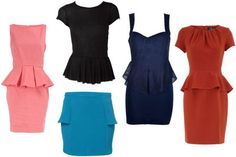 Spring 2012 will be the season for peplum