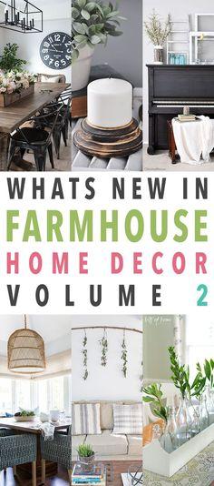 Whats New in Farmhouse Home Decor Vol. 2