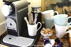 coffee bar display ideas - Google Search Coffee Shop, Coffee Maker, Bar Displays, Display Ideas, Snack Station, Coffee Station Kitchen, Spoon Collection, Coffee Service, Coffee Corner