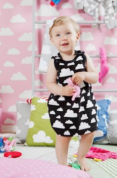 Farg Form Moln Cloud Dresses, available at Northlight Homestore At Home Store, Baby Design, Cosy, Flower Girl Dresses, Nursery, Clouds, Contemporary, Wedding Dresses, Kids