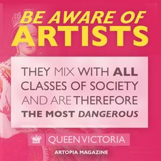 Be Aware of Artists