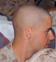 Bald Haircut, Barber, Hair Cuts, Gay, Military, Shaved Heads, Haircuts, Hair Style, Barbershop