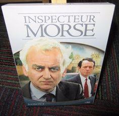 INSPECTEUR MORSE SAISON 2 4-DISC DVD SET, PAL FRENCH VERSION, INSPECTOR MORSE S2
