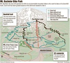 Expanded Mt. Bachelor Bike Park; More mountain biking trails available for beginning riders