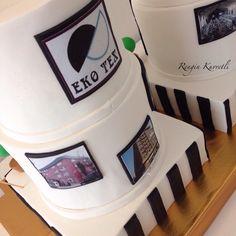Eko Tekstil Yılbaşı organizasyonu için hazırladığımız 120 kişilik pastamız.