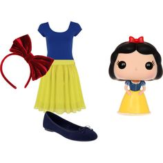 """""""Snow White"""" by ashley-nicole-parris on Polyvore"""