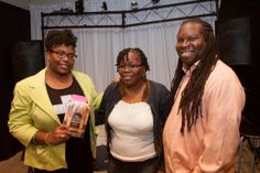 """Bookstore - Newark, NJ: TBB Literary Series book signing: Tracey Michae'l Lewis-Giggetts discussing """"The Unlikely Remnant"""". The Burning Bush Christian Bookstore (TBBbookstore.com). This literary event took place on October 13th, 2013."""