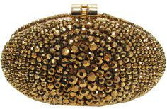 Sondra Roberts Faceted crystal oval box