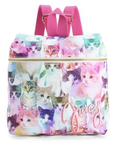 REIGNING CATS NYLON BACKPACK - Juicy Couture