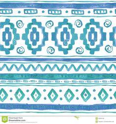 watercolor ethnic print - Google Search