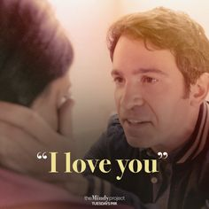 """""""I love you."""" - Danny to Mindy #amazing #themindyproject"""