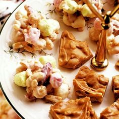 White-Chocolate Candy and Pranchers Penuche - Cute Christmas Food Gifts