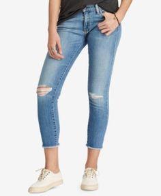 Denim & Supply Ralph Lauren Cotton Morgan Crop Skinny Jeans