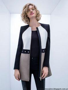 Tapados de mujer moda invierno 2016 Rafael Garófalo.