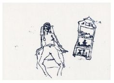 Tracey Emin What she inherited 2012 Monoprint on paper x cm Tracey Emin, Studio, Drawings, Artworks, Archive, Website, Paper, Women, Studios