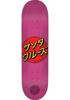 Santa-Cruz Japan-Dot - titus-shop.com  #Deck #Skateboard #titus #titusskateshop
