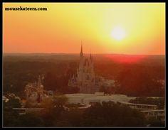 Walt Disney World: Sunset Over Cinderella Castle
