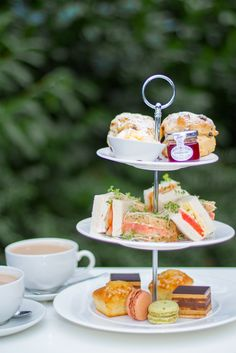 Enjoy a spot of afternoon tea at Café Vitalé and Bar