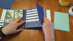 No Worries Mini Album.  This Album uses the No Worries Workshop Your Way paper pack from CTMH.
