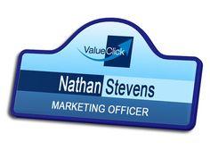 Value Click Name Badge