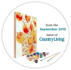 1000 images about country living magazine kits on for Easy 123 art com country living