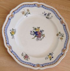 1924 Royal Doulton 11  Cabinet Plate